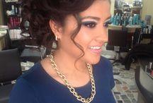 peinado y maquilaje / Creaciones de Ricardo y Alicia///  peinado de gala y maquillaje especializado para fotografia, estamos en Toluca W.A. 722 156 66 83    FB-Ricardo Hair Studio