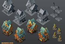 Game Art - Isometric