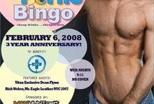 2008 Will Clark's P*rno Bingo / A gallery of posters from the 2008 Will Clark's P*rno Bingo, a weekly fundraising event benefiting New York based LGBT charities. Read more: http://willclarkworld.typepad.com/will_clark_world/2012/12/prno-bingo-2008-gallery-now-posted-on-pinterest-the-evolution-of-an-event.html