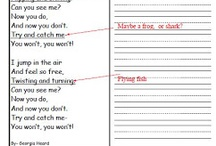 Teaching Inferring with Poetry