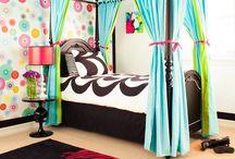 Teen girl rooms
