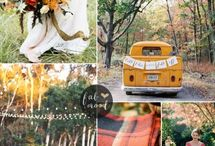 Amber and Peach styled shoot