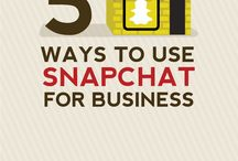 Snapchat / How to use Snapchat for business.