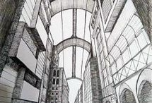 My art / Self-taught artist - started to draw in 2015. I enjoy drawings from imagination, illustration, fanart or architecture, either black or white or exploding by color. This is a place for my works and progress track.