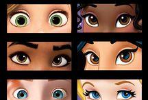 Глаза/лица