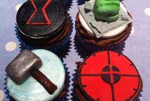Black widow cakes
