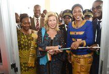 SALLE MULTIMEDIA / Abengourou :Dominique Ouattara offre une salle multimédia totalement équipée à la jeunesse