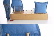 Sofa outdoors