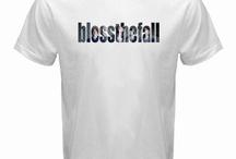 blessthefall White T-shirt
