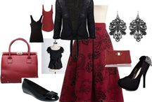 Outfits-Red / by Jennifer Overbeck