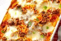 Ground Beef / Spaghetti / by Aline Schafer