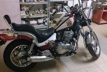 Motocykle / Moje prace nad zmianą motocykli