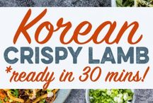 Recipes: Korean / Recipes for Korean Food that remind me of home!