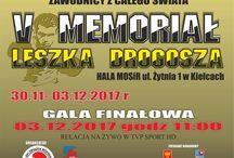 """5th Int. Boxing Tournament """"Leszek Drogosz Memorial"""" (Kielce - Poland, 28th Nov/4th Dec 2017)"""
