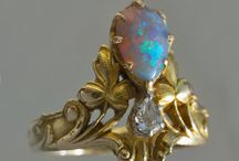 Rings with Opals