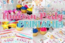 Clara's Unicorn Party