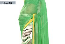 """Printed Collection """"Lilly"""" / Designer Printed Sarees of Catalog """"Lilly"""" Range just Rs. 600/- Per Piece"""