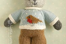 Stikket bamse/dyr