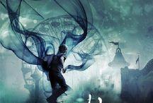Beautiful Book Cover Art / Beautiful Science Fiction, Fantasy & Horror book cover art.