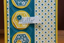 Cardzzz...Blue & Yellow / by Cat o phile