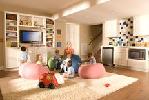 Basement ideas / by Mandy Foulds