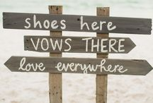 Beach wedding ideas / by Trisyena Harris