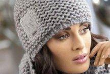 шапка вязание