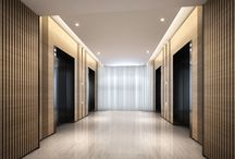 EV lobby office design