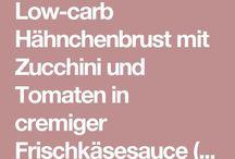 Low- Carb Rezepte