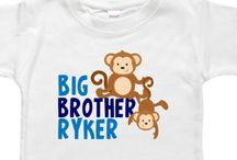 Personalized Big Little Brother & Big Little Sister Shirts / Our personalized baby and toddler bodysuits and shirts are perfect for gifts and special occasions!  What makes us different? ~We use high-quality 100% cotton garments that hold their shape and last ~We are happy to create custom designs at no extra cost ~We are happy to include a gift card with your order and ship directly to your gift recipient ~We are always here to help...just ask!