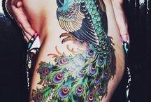 Tetování pávi