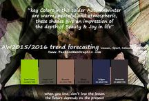 AW 2015/2016 colors / colors