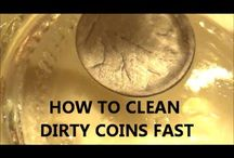 Coin cleaning