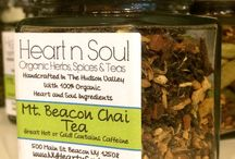 Organic Loose Health Teas / We carry over 33 Organic Loose Health Teas that we blend right here in the Hudson Valley at Heart and Soul Apothecary in Beacon NY