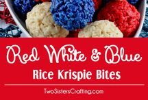 Red White And Blue Food For Kids / Red White And Blue Food Ideas For Kids, Mainly Healthy Ideas, Patriotic Food, Fourth of July