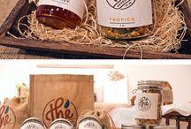 Glass Jar Label Design