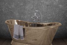 Beautiful Brass Bathrooms