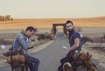 Camping in moto