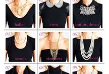 How to layer neckless girls
