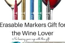 Unique Gift Ideas for Wine Lovers / wine lover gift Ideas, gifts for wine lovers, 2016 Gift Ideas, Wine cork holders, wine coolers, unbreakable wine cups,  wine chiller, erasable wine glass markers, wine thermometers, wine stoppers, wine aerators, stainless steel wine opener