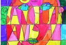 2015-16 art lesson inspirations