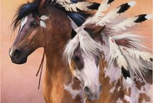 HORSE INDIAN