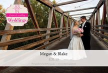 Featured Real Wedding: Megan & Blake {from the Summer/Fall 2014 Issue of Real Weddings Magazine} / Megan & Blake-Featured Real Wedding from the Summer/Fall 2014 issue of Real Weddings Magazine, www.realweddingsmag.com. Photos by and copyright www.FarrellPhotography.net; Dresses: www.EnchantedBridalShoppe.com. See entire post here: http://www.realweddingsmag.com/featured-real-wedding-megan-blake-from-the-summerfall-2014-issue-of-real-weddings-magazine/