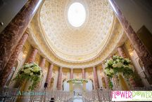 Wedding at Stowe School / These photos show the floral designs Flower Power designed for a wedding at the famous Stowe School. For more information head to www.flowerpower-online.com/blog