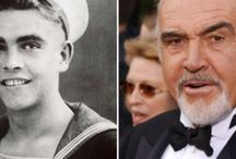 Celebrities now and when they were young (Διάσημοι τότε και τώρα)