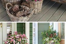Garden- Flower pots