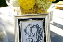 Yellow Wedding Centerpieces