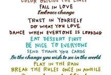 Written Words / by Edwina Bustamante