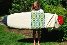 Handmande surfoard bag