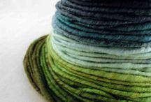 włóczki kolory, yarn colours